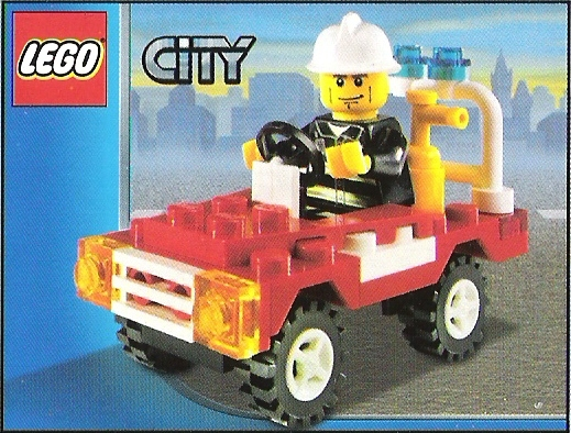 lego police truck instructions 7286
