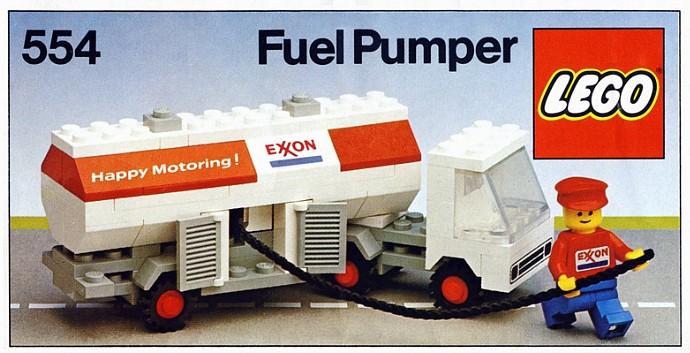 Lego 554 Exxon Fuel Tanker image