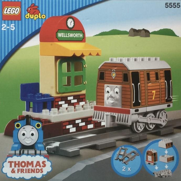 Изображение набора Лего 5555 Toby at Wellsworth Station