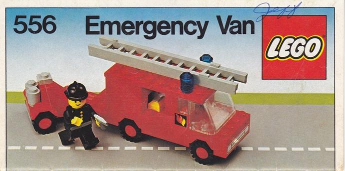 Lego 556 Emergency Van image