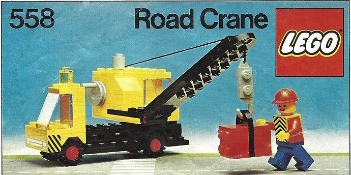 Lego 558 Road Crane image