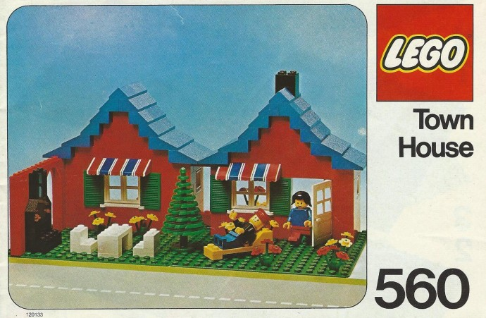 Lego 560 Town House image