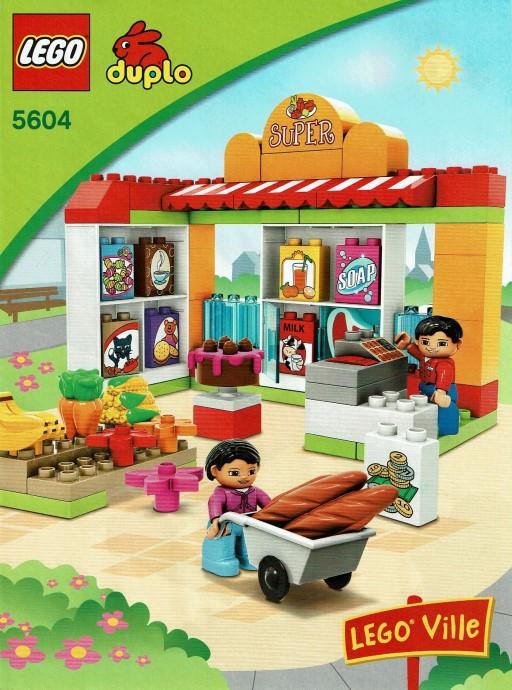 Изображение набора Лего 5604 Supermarket