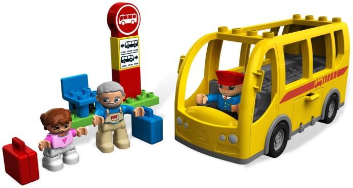 lego duplo school bus instructions