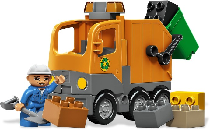 5637 1 Garbage Truck Brickset Lego Set Guide And Database