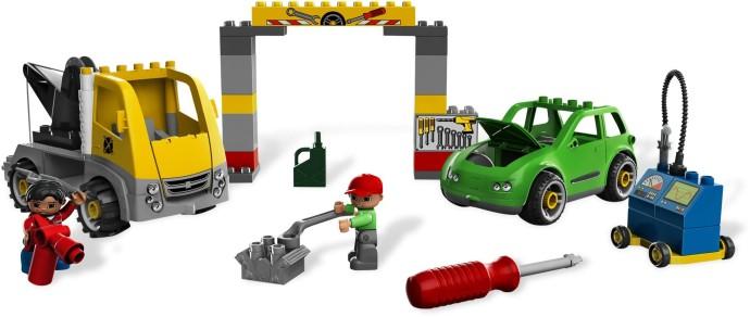 Fonkelnieuw 5641-1: Busy Garage | Brickset: LEGO set guide and database BA-66