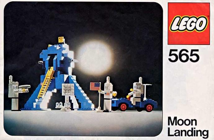 Lego 565 Moon Landing image
