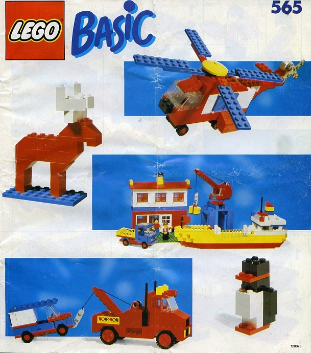Lego 565 Basic Building Set, 5+ image