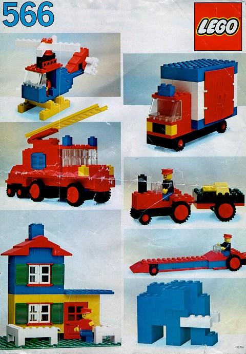 Lego 566 Basic Building Set, 5+ image