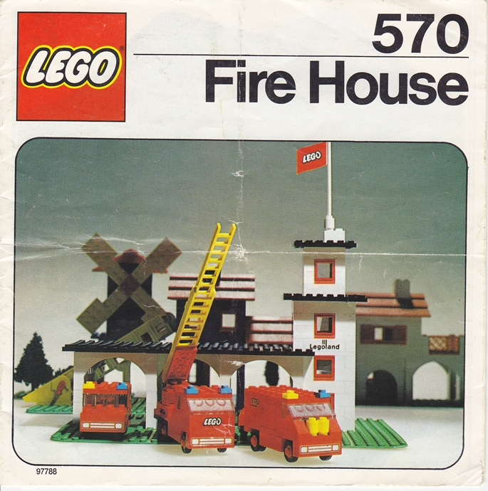 Lego 570 Fire House image