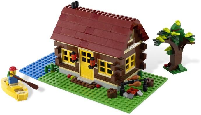 5766 1 log cabin brickset lego set guide and database - Lego construction maison ...