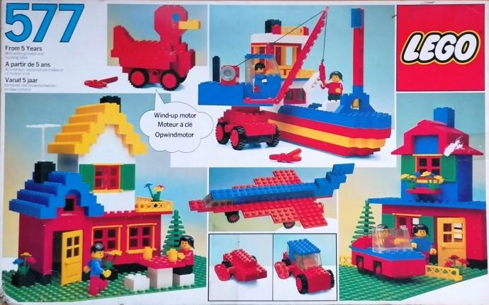 Lego 577 Basic Building Set, 5+ image
