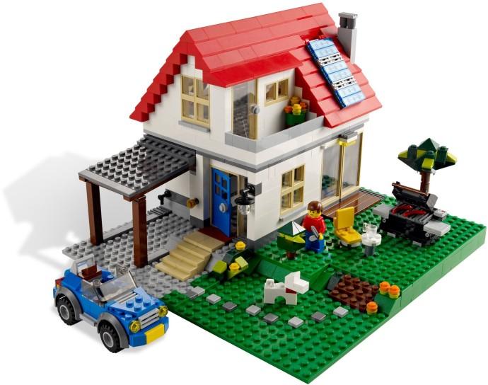 Lego 5771 Hillside House image