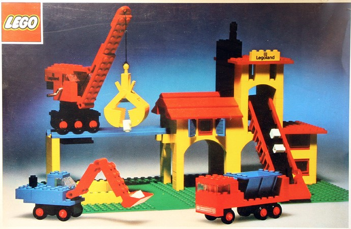 Изображение набора Лего 580 Brick Yard