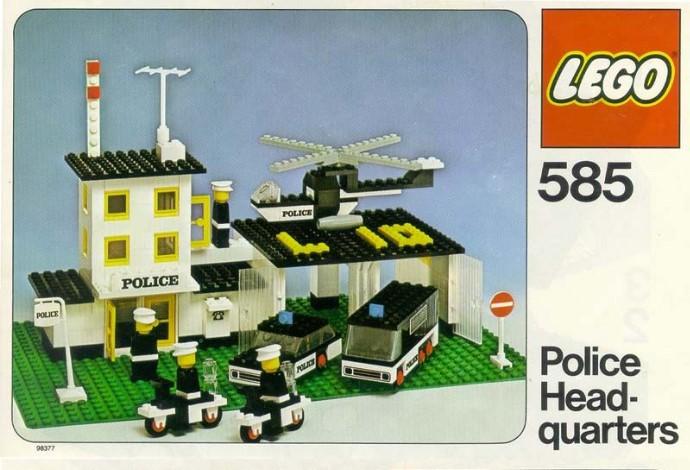 Изображение набора Лего 585 Police Headquarters