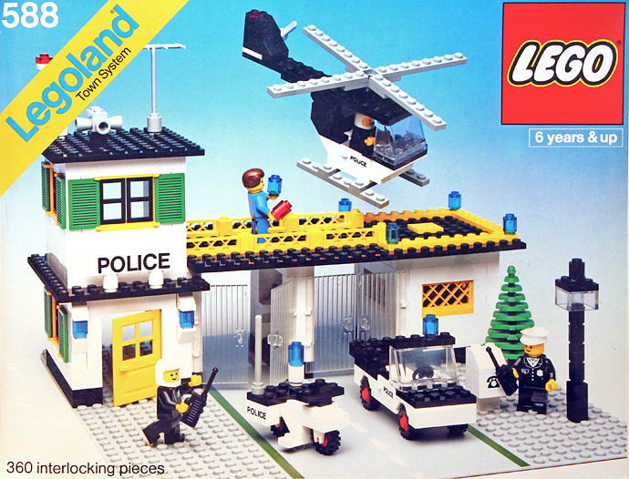 Lego 588 Police Headquarters image