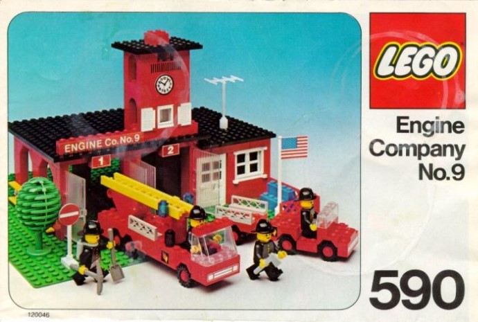 Lego 590 Engine Co. No. 9 image