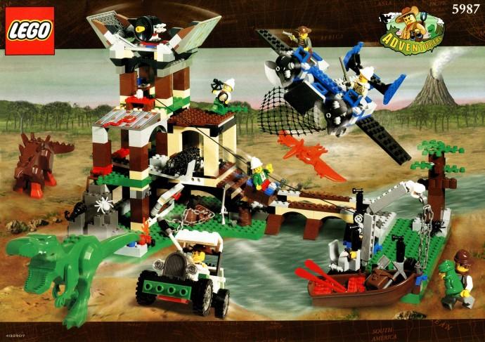 Adventurers dino island brickset lego set guide and - Lego dinosaures ...