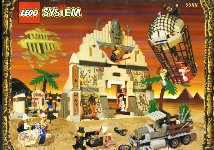 Box art of set 5988 The Temple of Anubis