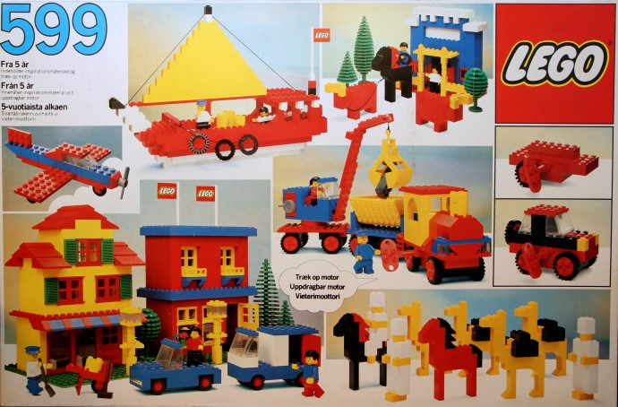 Изображение набора Лего 599 Basic Building Set, 5+