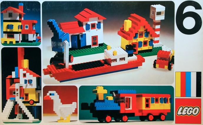 Изображение набора Лего 6 Basic Set