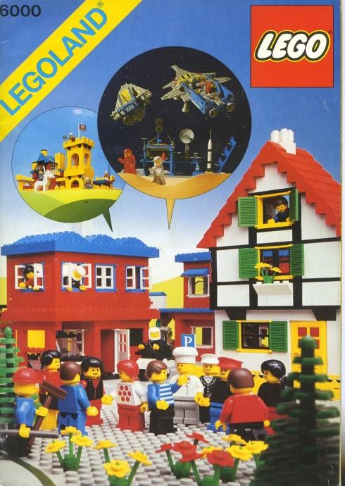Изображение набора Лего 6000 LEGOLAND Idea Book