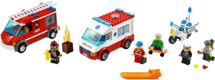 60023 1 Lego City Starter Set Brickset Lego Set Guide And Database