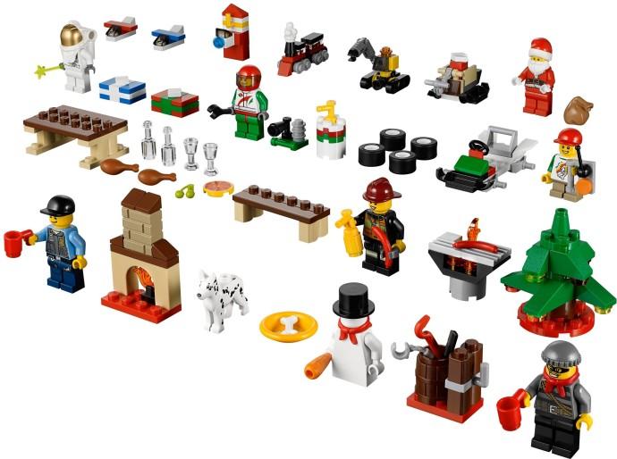 60024-1: City Advent Calendar   Brickset: LEGO set guide and database