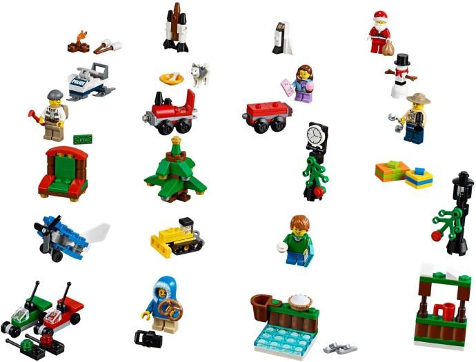 60099 1 city advent calendar brickset lego set guide and database. Black Bedroom Furniture Sets. Home Design Ideas