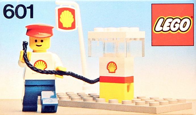 Изображение набора Лего 601 Shell Filling Station