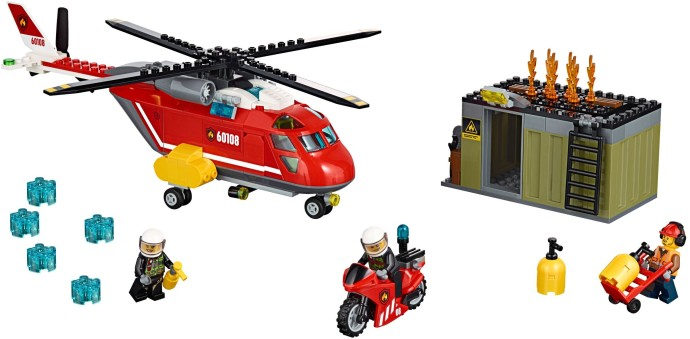 60108 1 fire response unit brickset lego set guide and database. Black Bedroom Furniture Sets. Home Design Ideas