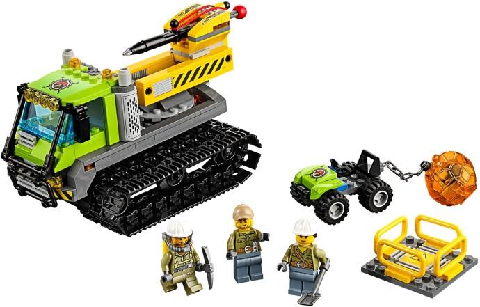 60122 1 volcano crawler brickset lego set guide and database - Lego city a colorier ...