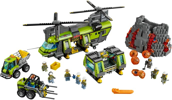 LEGO Volcano Exploration Base 60124 Summer 2016 Set! - Brick Toy News