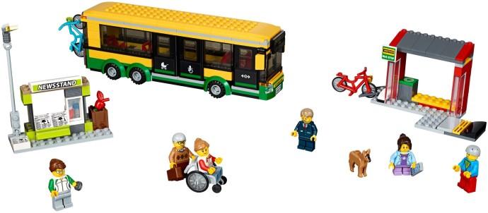 60154 1 Bus Station Brickset Lego Set Guide And Database