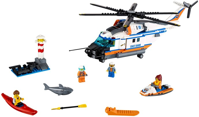 60166 1 Heavy Duty Rescue Helicopter Brickset Lego Set Guide And