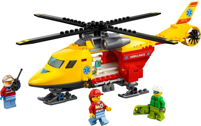LEGO 60179: Ambulance Helicopter