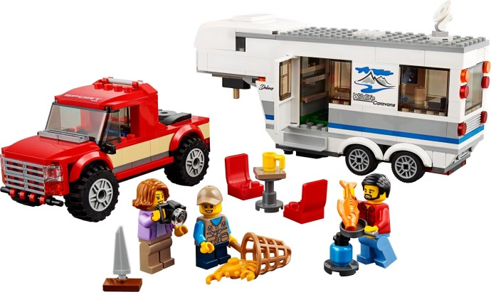 60182: Pickup & Caravan