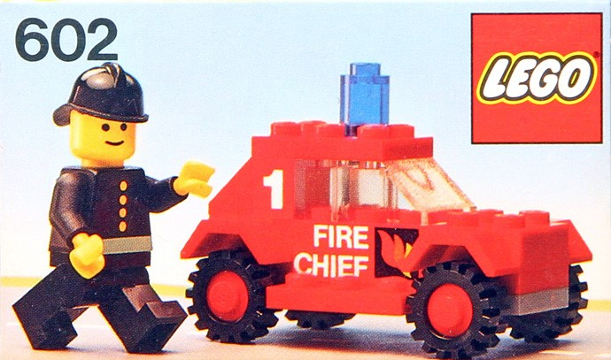 Car Auction Apps >> 602-1: Fire Chief's Car | Brickset: LEGO set guide and ...