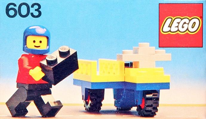 Изображение набора Лего 603 Motorbike