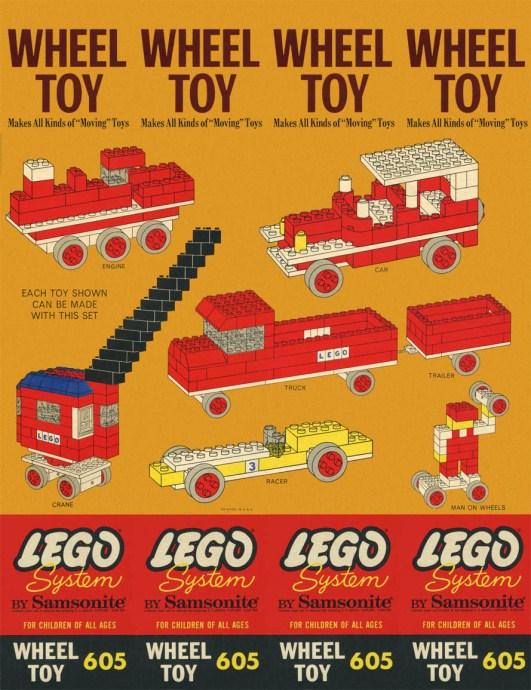 Lego 605 Wheel Toy image