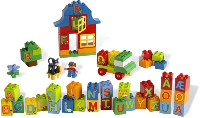 Lego 6051 Play with Letters Set image