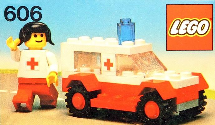 Изображение набора Лего 606 Ambulance