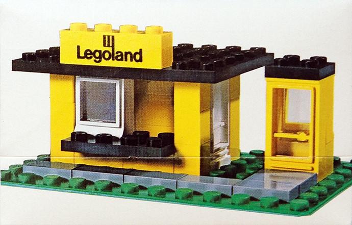 Изображение набора Лего 608 Kiosk