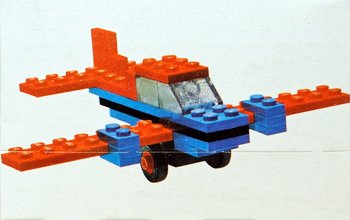 Изображение набора Лего 609 Aeroplane