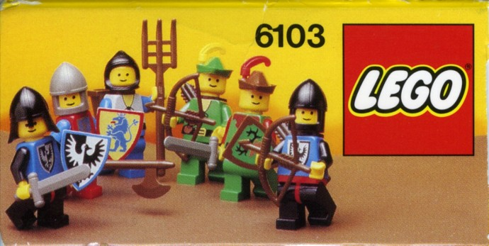 Lego 6103 Castle Mini Figures image
