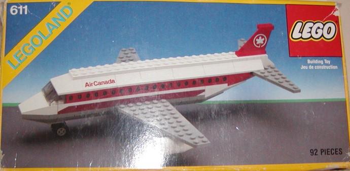 Изображение набора Лего 611 Air Canada Jet Plane