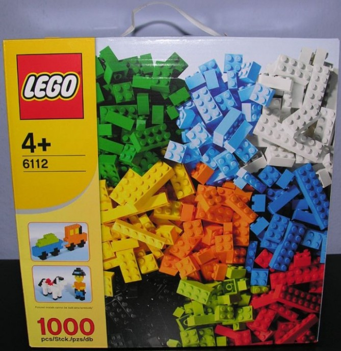 6112-1: LEGO World of Bricks - 1,000 Elements | Brickset ...