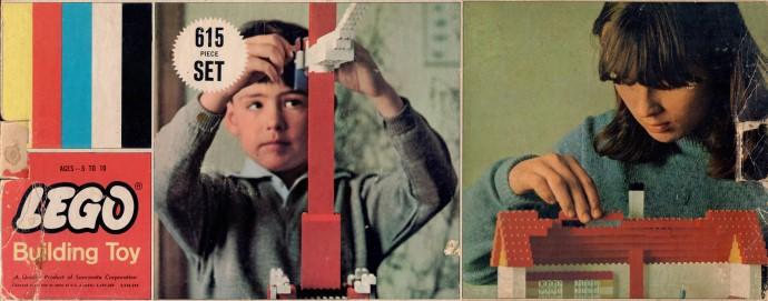 Lego 615 Samsonite Gift Set image