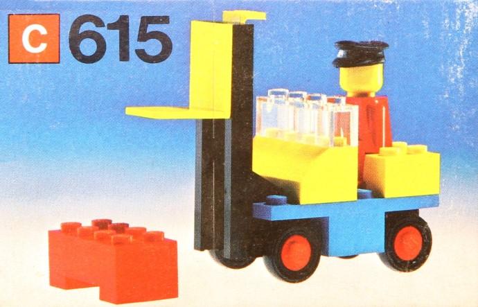 Lego 615 Forklift image