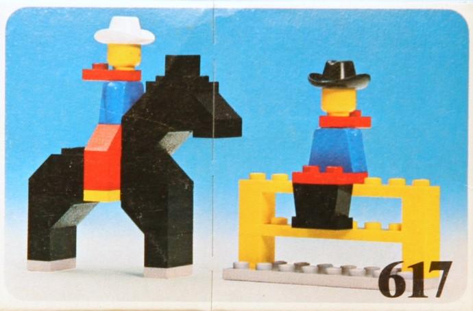 Изображение набора Лего 617 Cowboys